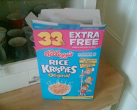 crispies box