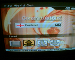 PES6 cup victory
